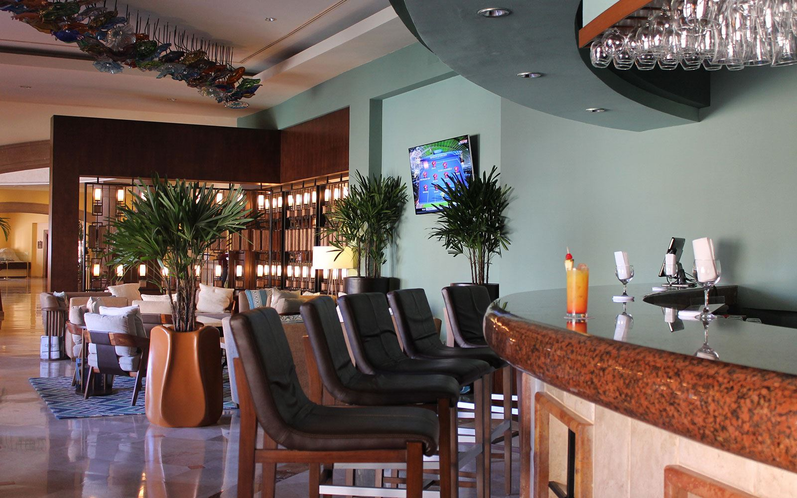 Restaurantes en The Ridge at Playa Grande Resort - Lobby Bar