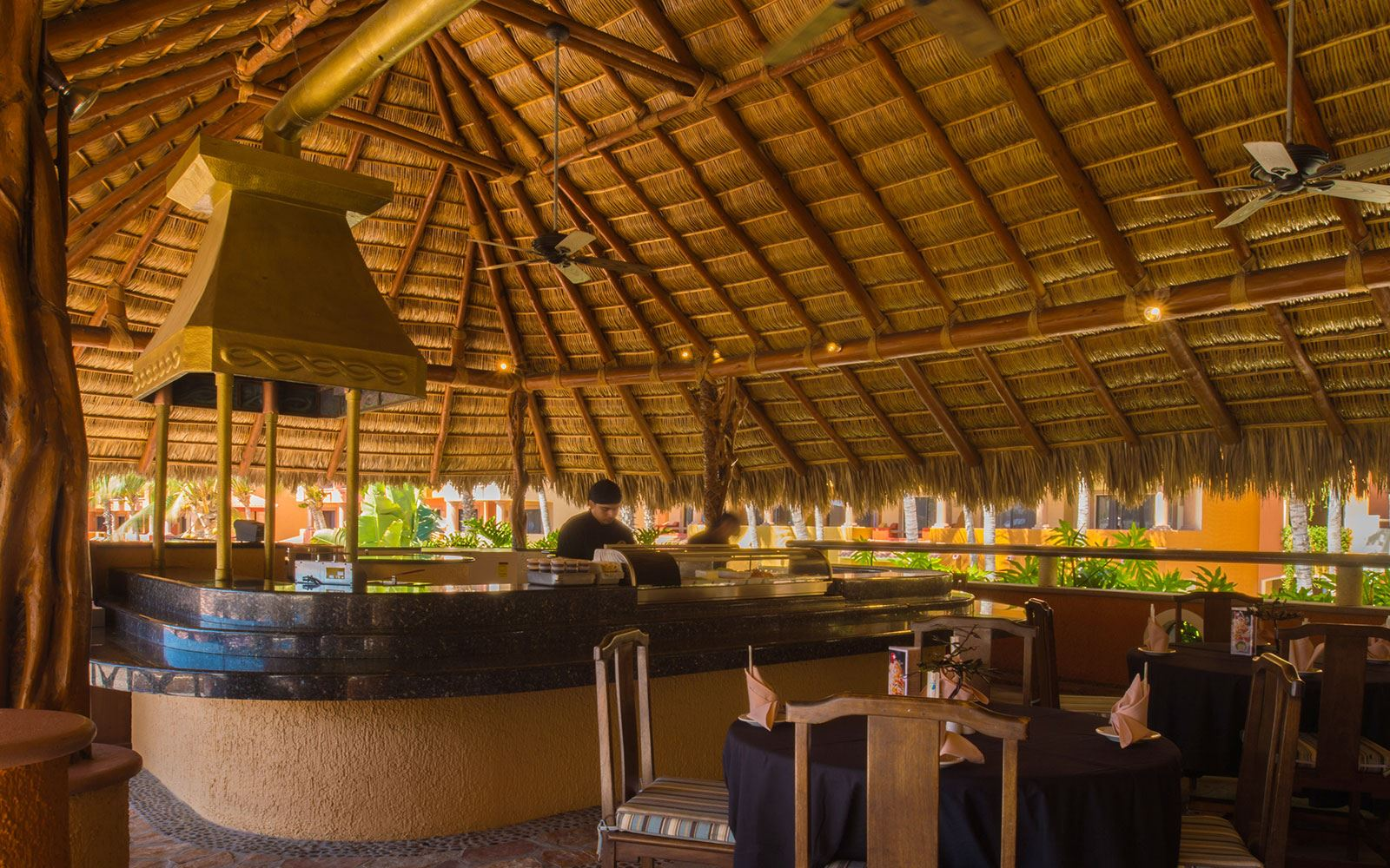 Restaurantes en The Ridge at Playa Grande Resort - Sushi sun